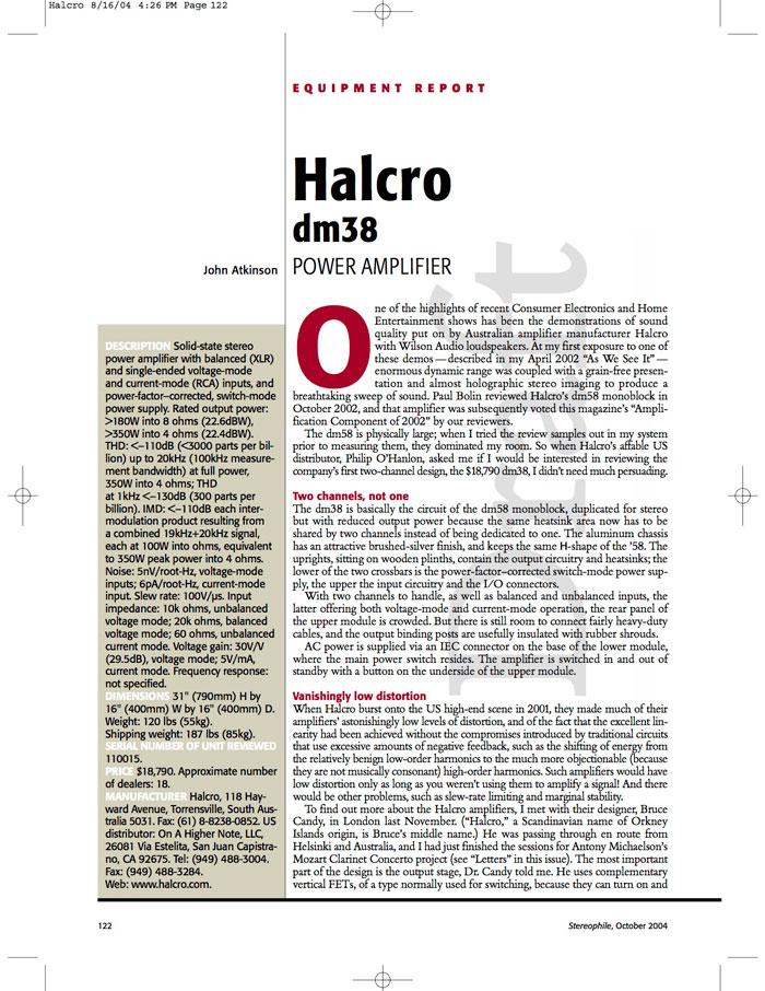 Resources : HALCRO